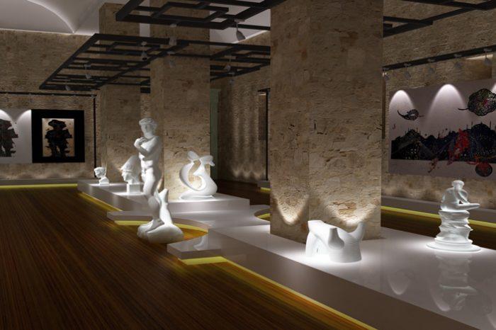 muze tasarimi - iç mimari proje tasarimi - interior design